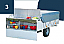 Rear mounted kitchen on GL models