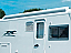 F65 closely follows the roofline of your motorhome