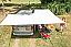 Shelter side door and rear door of vehicle