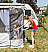 Mosquito mesh door panel for Fiamma Privacy Room on F45, F65 and Caravanstore ZIP