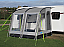 Kampa Rally 260 lightweight caravan porch awning in grey colour