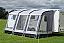 Kampa Rally 390 caravan porch awning in grey colour