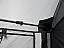 Internal bracing bars keep awning canvas taught