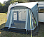 Doors on both sides of the awning
