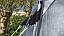 Guyline supports pole and tent flysheet
