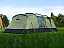 Traditional vis-a-vis tunnel tent