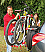 Fiamma Carry Bike Backpack 4x4 fits over spare wheel