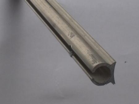 Awning C Rail - 2.1 Metre Aluminium Section