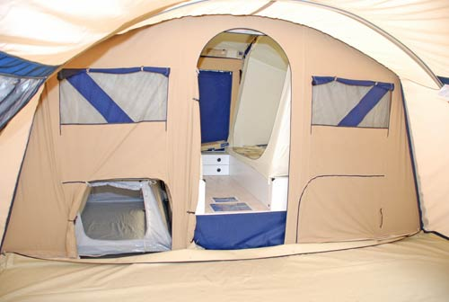 Trailer Tents From Camperlands Including The Cabanon