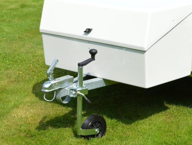 35mm Jockey Wheel Metal Wheel Caravan Trailers Trailer Tent