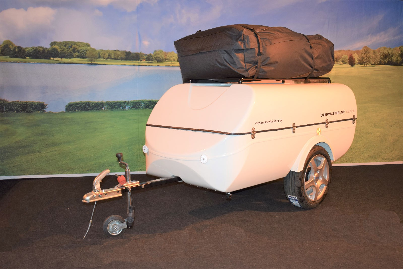 various colors 63b17 6c2d7 Campmaster AIR Inflatable Trailer Tent