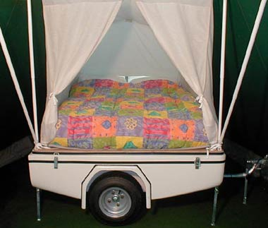 Campmaster Miniature Trailer Tent For Small Cars