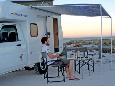 Wind Out Awning Canopy For Smaller Motorhomes And Campers