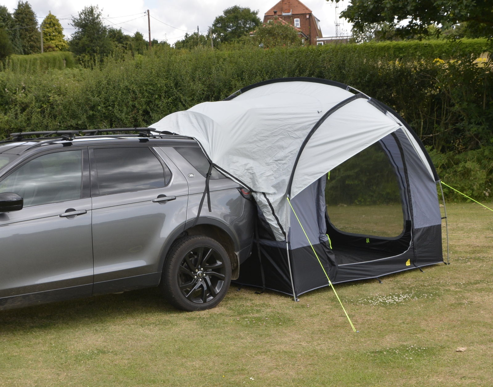 ... Back up to awning and fit to tailgate of vehicle Rain shelter canopy ... & Kampa Travel Pod Tailgater