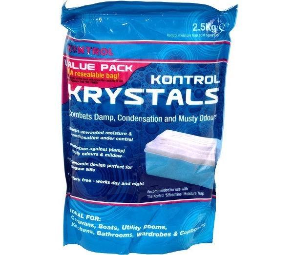 Kontrol Moisture Krystal Refill Pack Blue 2.5Kg
