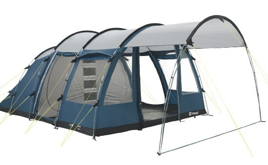 Outwell Amarillo 4 person family tent with front canopy ...  sc 1 st  C&erlands & Outwell Amarillo 4 | Spacious family tent with zip-off canopy