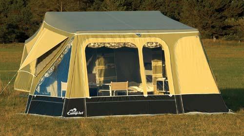 Camp Let Savanne Trailer Tent