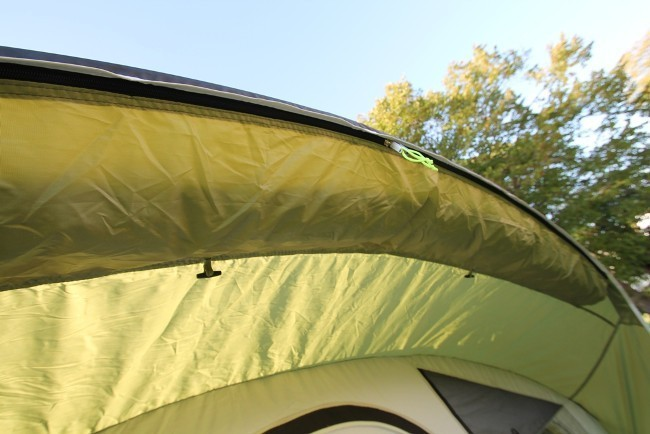 Sunc& zips away ito pocket on front rain shelter ... : evolution 600 tent - memphite.com