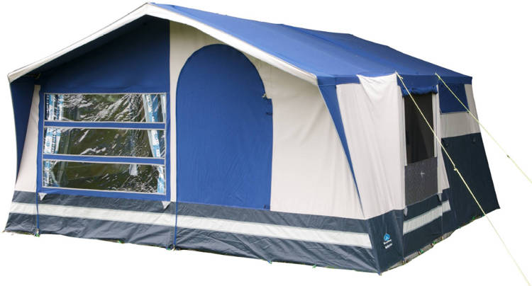 Sunncamp Holiday 240 small family trailer tent