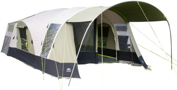 Sunnc& 550 large family trailer tent with sealed groundsheet ...  sc 1 st  C&erlands & Sunncamp 550 trailer tent