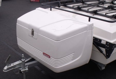 trailer tent fridge box