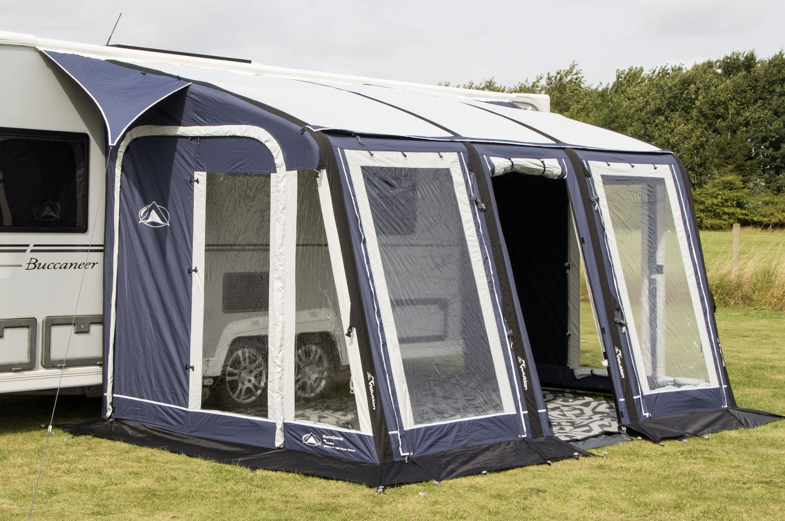Sunncamp Ultima AIR Super Deluxe 390 In Blue Colour