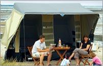 Camp-let Savanne trailer tent