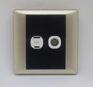 2 Pin 12V Socket & TV Outlet