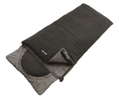 Outwell Contour Single Sleeping Bag - Black