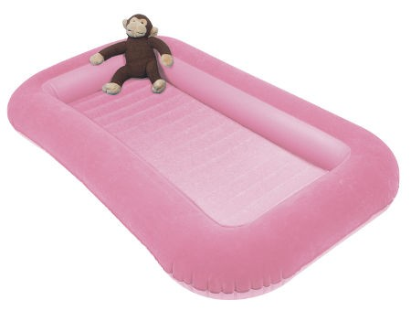 Kampa Airlock Junior Kids Air Bed - Pink