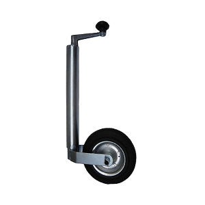 Metal Jockey Wheel Assembly - 42mm