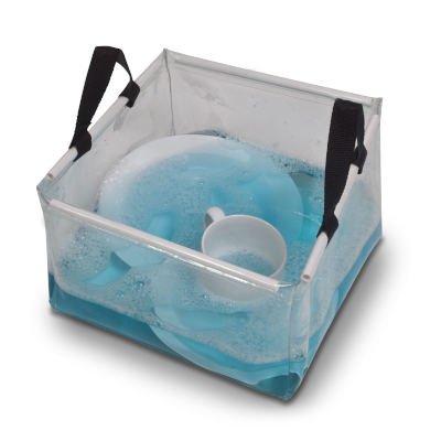 Kampa Folding Wash Bowl with Carry Handles