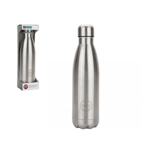 B&Co 500ml Stainless Steel Thermal Bottle Flask