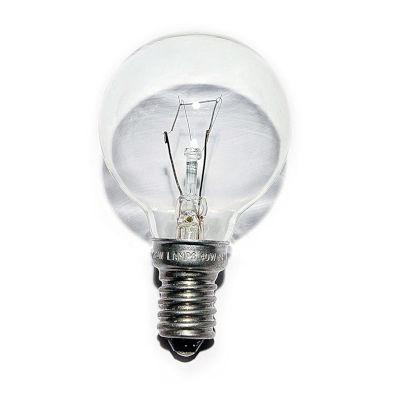 240V 25W Golf Ball Bulb E14 Screw Base