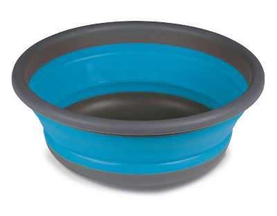 Kampa Collapsible Medium Round Washing Bowl - Blue