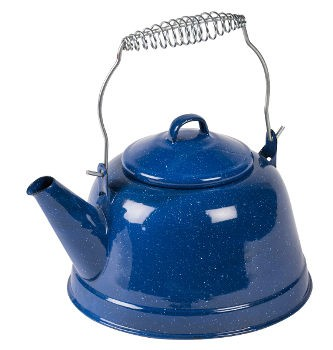 Kampa Retro Enamel Stove Top Kettle