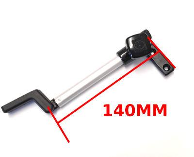 Caravan Window Stay - Tube Polyfix Fix 140mm Perma-fix Right Hand