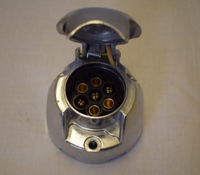 Maypole 7 Pin Towing Socket - Aluminium 12N