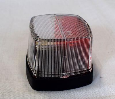 Hella 883 Side Marker Lamp (red/clear)