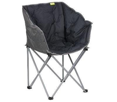 Kampa Tub Bucket Camping Chair - Black