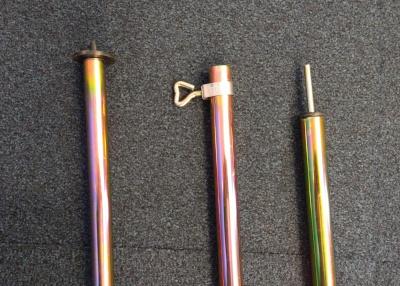 Steel Adjustable Spike Canopy Pole