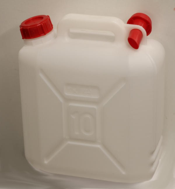 10 Litre Water Can with spout