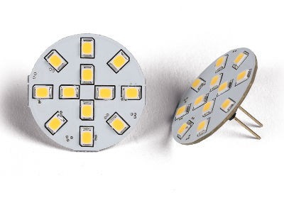 G4 SMD LED Bulb - 12 LED Rear Fitment