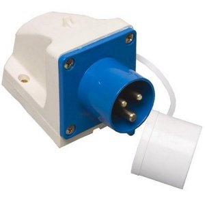 Kampa Caravan Mains Inlet - Surface Mount