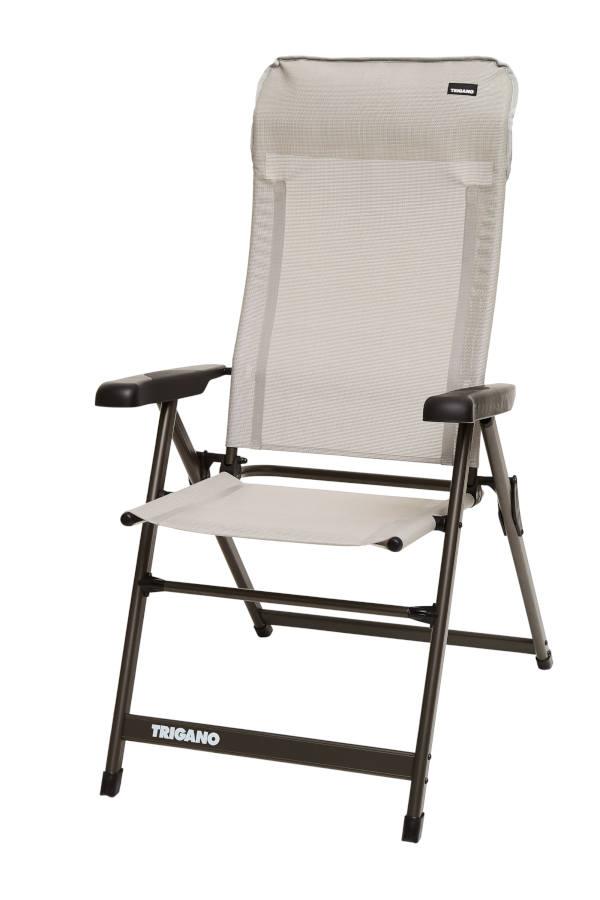 Trigano High Back Reclining Aluminium Chair - Dove