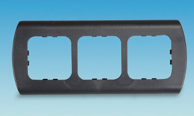 C-Line 3 Way Face Plate - Round Edge