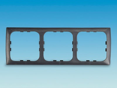 C-Line 3 Way Face Plate - Square Edge