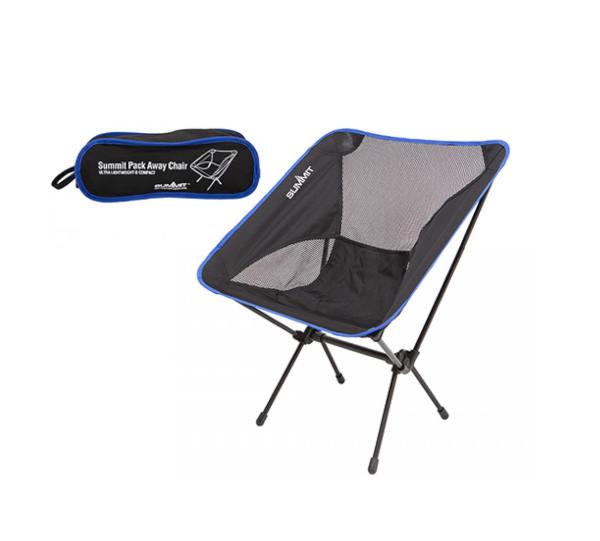 Summit Ultra Light Pack Away Chair Blue