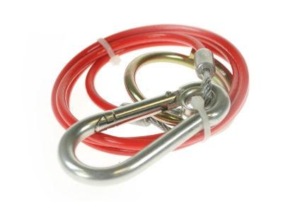 Maypole Breakaway Cable 1m x 3mm Red PVC