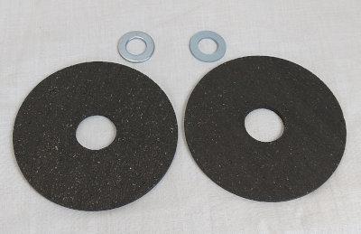 "Breckland 4"" Friction Discs for the Corgi Stabiliser"